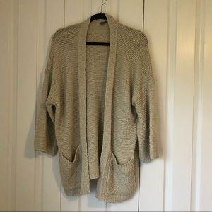 Aerie Open Knit Cardigan